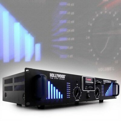 3000 Watt amplifier DJ Party top modern Equipment USB SD AUX PA music Bluestream