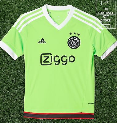 Ajax Away Shirt - Official Adidas Boys Football Shirt - All Sizes