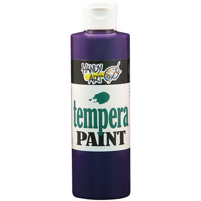 Handy Art Tempera Paint 8oz Violet 206-040