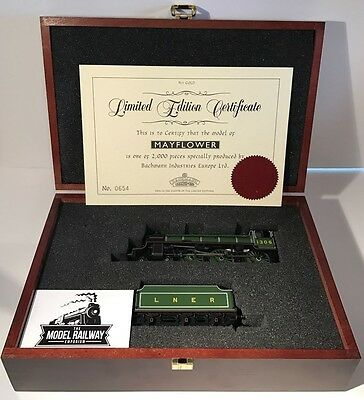 "Bachmann 00 Gauge Limited Edition ""mayflower"" Lner Green 4-6-0 Needs Attention"