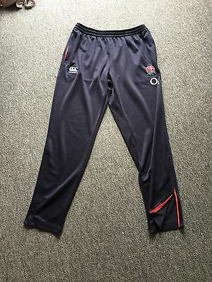 England Rugby Player Issue, Tapered Training Bottoms, XL, New Range! Rare.