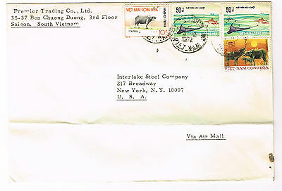Vietnam Stamps On Cover / Envelope  Postmarks Used 1977  (241)