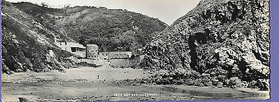 Guernsey Bot Bay Channel Islands Panoramic Original Old Real Photo Postcard Rt