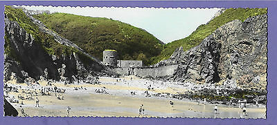 Guernsey Petit Bot Channel Islands Panoramic Original Old Real Photo Postcard Rt