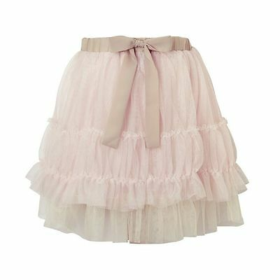 "BNWT Girls ""Their Nibs""  pink tutu skirt - Ooodles of fabric size 9-10 rrp £35"