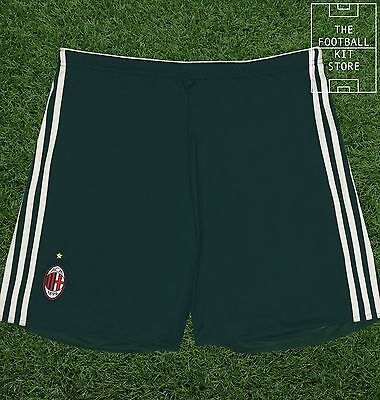 AC Milan Third Shorts - Official Adidas Football Shorts - All Sizes