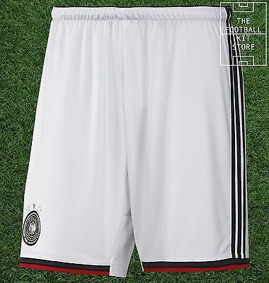 Germany Home Shorts - Official Adidas Football Shorts - All Sizes