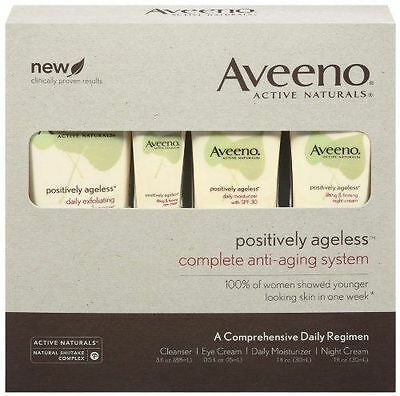 Aveeno Active Naturals Positively Ageless Skin Strengthening Firming Lotion 207g