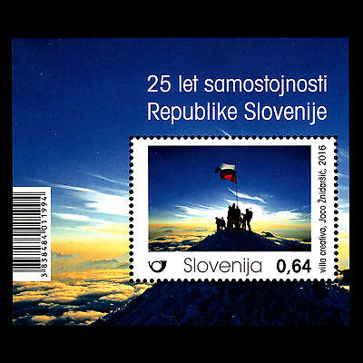 Slovenia 2016 - 25th Anniversary of Independence Flags Nature - MNH