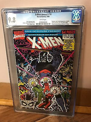 X-Men Annual #14 Cgc 9.8 Nm/mt 1St App Of Gambit Predates Uncanny X-Men #266