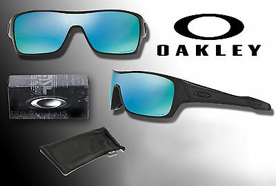 New OAKLEY 32mm TURBINE ROTOR Black Frame / Deep Walter Prizm Polarized Lens