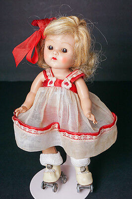 CLEARANCE SALE Vintage Vogue Ginny Doll Painted Lash Strung Great Outfit