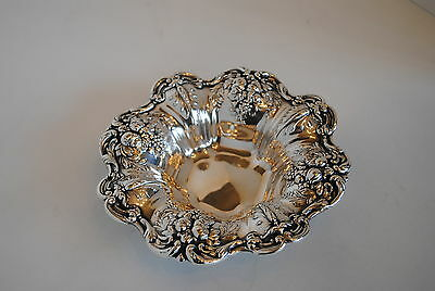 "Sterling Silver Reed & Barton Francis I Repousse Bowl X569 8"" Diameter"