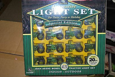 John Deere Outdoor Lighting: John Deere model 4020 tractor decorative indoor outdoor lights light set,Lighting