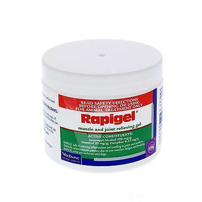 Rapigel Muscle and Joint Relieving Gel Horse Equine 250g