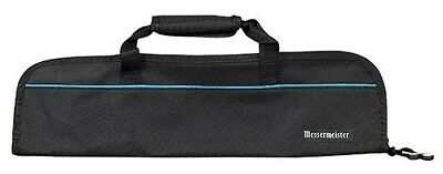 MESSERMEISTER Black 5 Pocket Knife Roll, Case