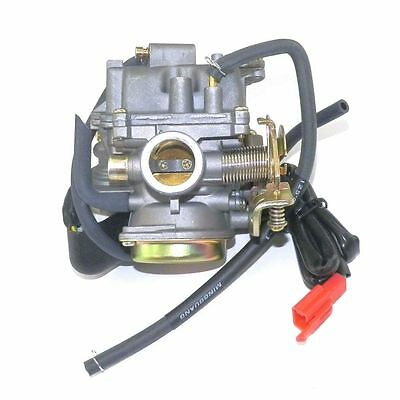 True 20mm Performance Carburetor 50cc-100cc 139QMB GY6 Scooter Carb CVK