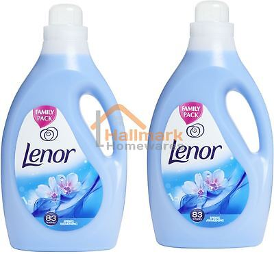 2 x Lenor Fabric Conditioner Spring Awakening 83 Washes 2.905L
