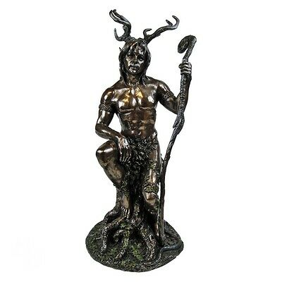 Herne The Hunter Wiccan Witchcraft Occult Altar Figurine Statue.