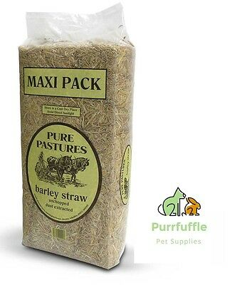 3Kg Pure Pastures Barley Straw Bale Rabbit Guinea Pig Small Animal Bedding