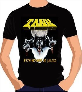 """TANK """"Filth Hounds Of Hades"""" T-Shirt size L *NEW*"""