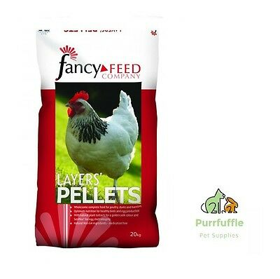 20Kg Fancy Feed Layers Pellets Poultry Chicken Turkey Duck Goose Bantam Food
