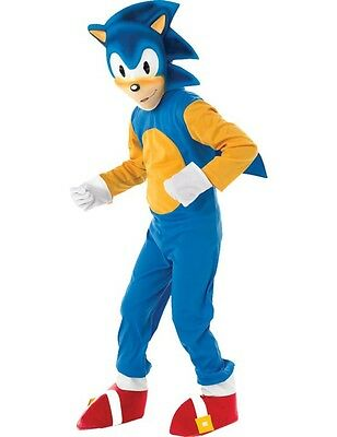 Costume Carnevale Travestimento Sonic the Hedgehog Videogame Bambino Small