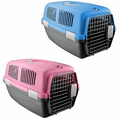 Pet Travel Carrier Bag Portable Crate Puppy Cat Dog Rabbit Kennel Transport Cage
