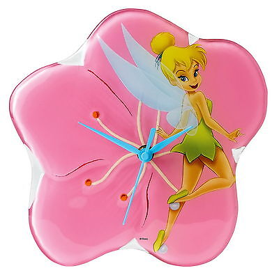 """ENESCO DISNEY WANDUHR - WALL CLOCK - """"Tinker Bell - Dreams are Forever"""" - A25233"""