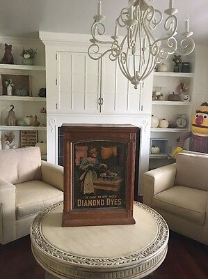 Diamond Dyes Country Store Cabinet