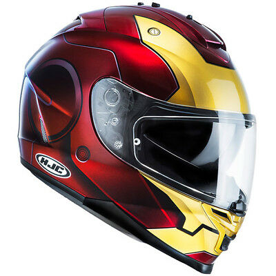 HJC Marvel Iron Man IS-17 Full Face Motorcycle Crash Helmet