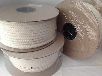 450 yd Cotton Welt Cord Spool 3/32 Sewing Quilting Craft Macrame Knit Crochet