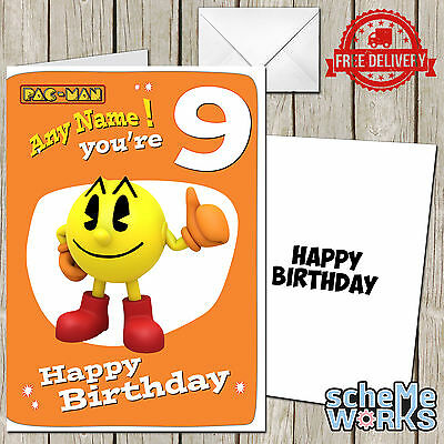 Pac Personalized Birthday Card Home, Furniture & DIY Cards & Invitations
