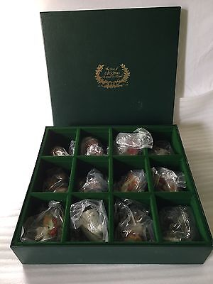 "Brand New ""The Faces of Christmas Around The World"" by Franklin Mint 1988 Set"