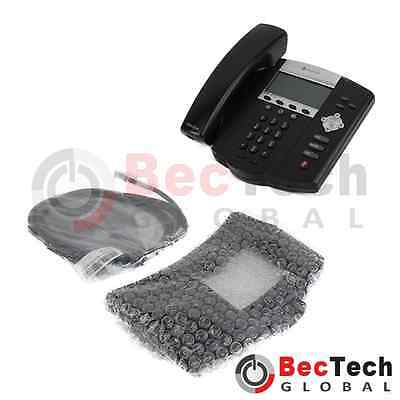 *NEW* Polycom SoundPoint IP 450 PoE VoIP Conference Phone P/N: 2200-12450-025