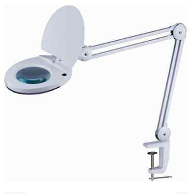 Greenlife Magnifying Lamp with Clamp. 5X Magnification, 360° Swivel Head