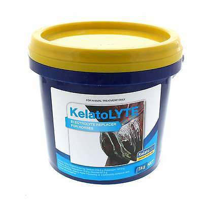 Kelato Lyte Electrolyte Replacer Horse Equine 3kg Health Supplement