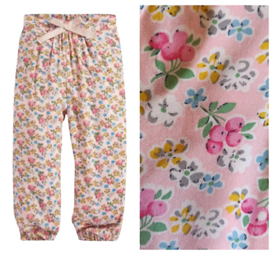 Next Trousers  Girls 12-18 Months Ditsy Pink Floral Summer BNWT