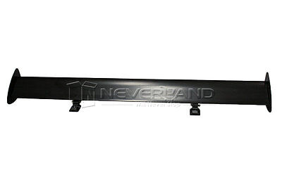 Black Light weight Aluminum SUV Rear Wing Truck Racing Spoiler Mounted Universal