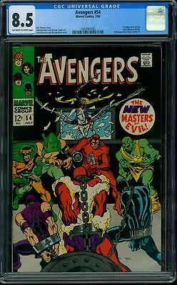 Avengers 54 CGC 8.5 - OW/W Pages