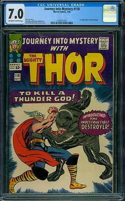 Journey Into Mystery 118 CGC 7.0 - OW/W Pages
