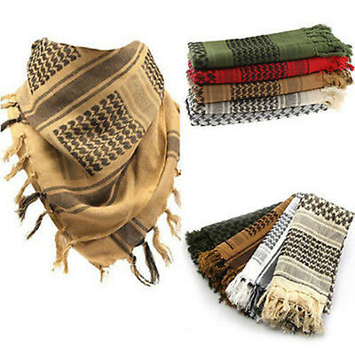 Lightweight Military Arab Tactical Desert Army Shemagh KeffIyeh Scarf Superb