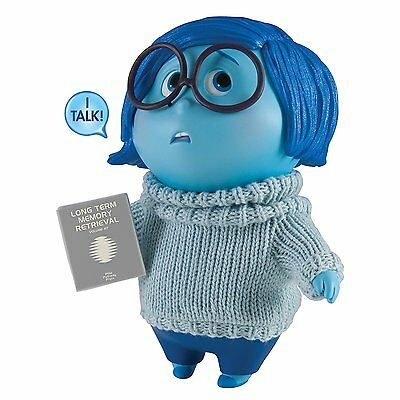 Disney Pixar Inside Out Large Talking Figure - Sadness