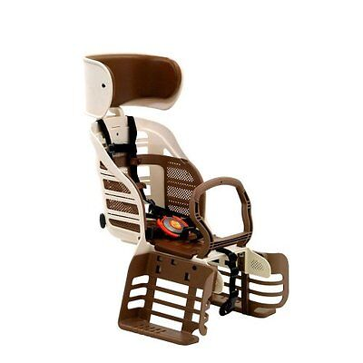 OGK Deluxe Cycling Chile Seat with Head Rest RBC-007DX3 Ivory