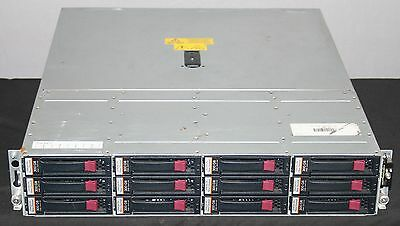 HP M6412A, Storage Drive Array, Fibre Channel with 12x 300GB FC HDD, AG638B #C2