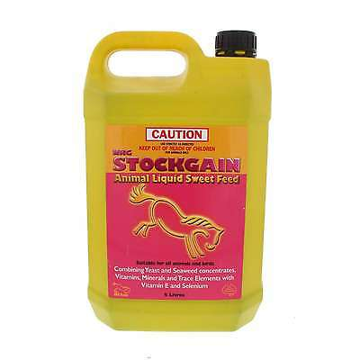 Stockgain Vitamins Minerals and Trace Elements NRG Horse Equine 5L