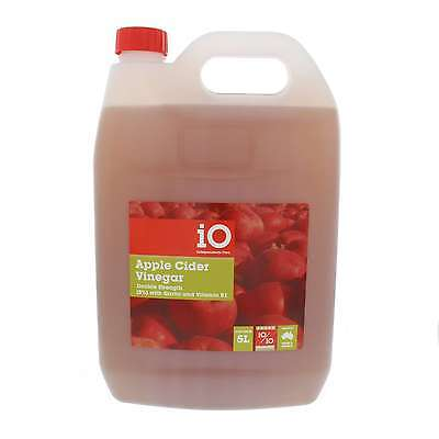 Apple Cider Vinegar + Garlic Double Strength 8% and Vitamin B1 Horse Equine 5L