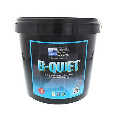 B Quiet Thiamine (Vitamin B1) Supplement for Performance Horses Equine 4kg