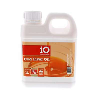 Cod Liver Oil Source of Vitamins A and D Horse Equine 1L