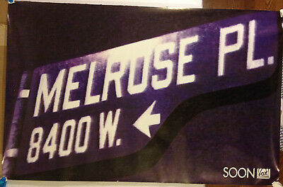 Melrose Place promotional Postal /Fox Television 1992 rolled, 25 X 39 excellent